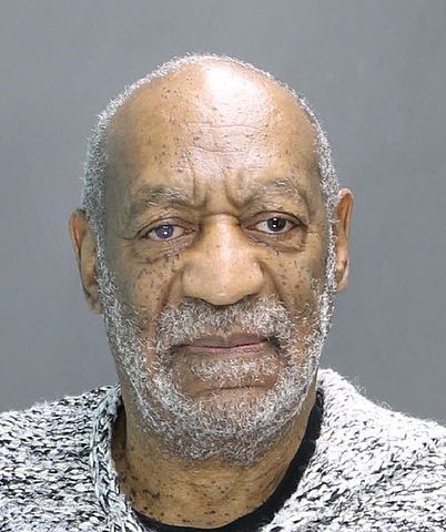 December 30, 2015 mug shot of Bill Cosby following an arraignment for felony sexual assault of Andrea Constand (Photo and description from Wikipedia)