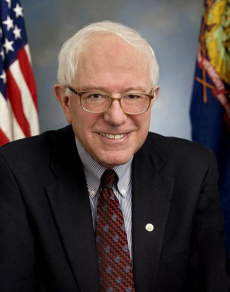 U.S. presidential aspirant Senator Bernie Sanders (Official portrait)