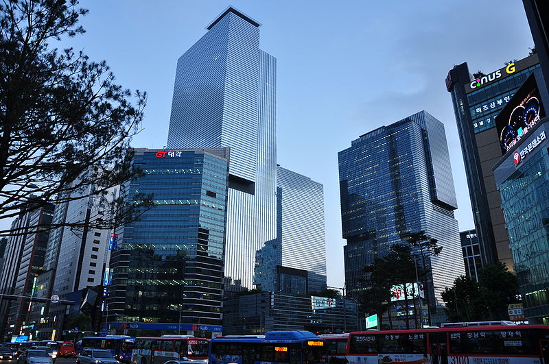 Samsung Headquarters in Seoul, Korea. (Photo from Flickr/Oskar Alexanderson)