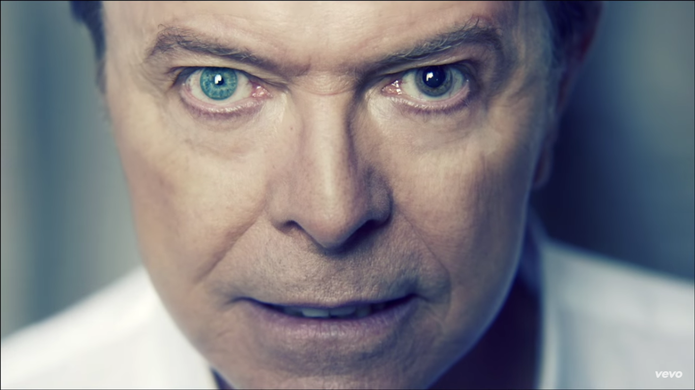 Legendary rock star icon David Bowie, died of cancer last Sunday morning at the age of 69 (Screenshot from David Bowie's music video Valentine's Day)