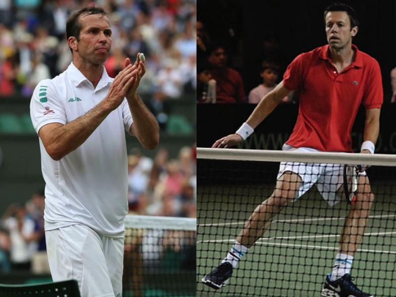 Radek Stepanek and Canadian tennis player Daniel Nestor (Facebook photo)
