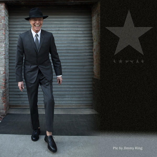 David Bowie (Photo from Bowie's website; Photo by Jimmy King)