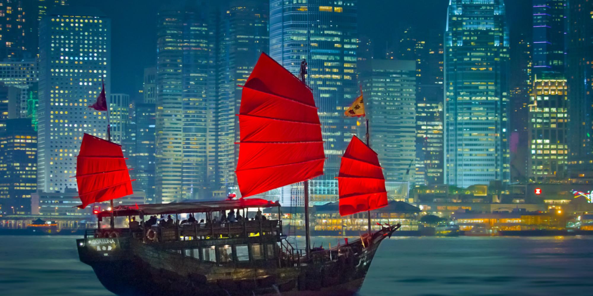 Hong Kong boat (Internet photo)