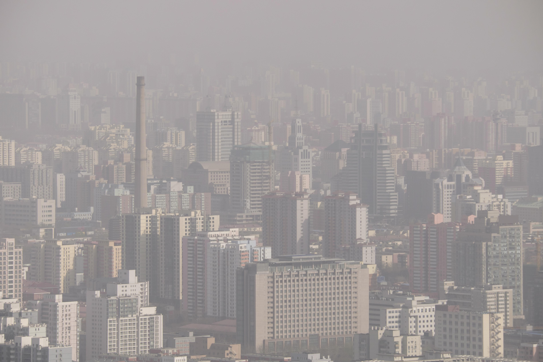 Air pollution all around Beijing (Shutterstock photo)