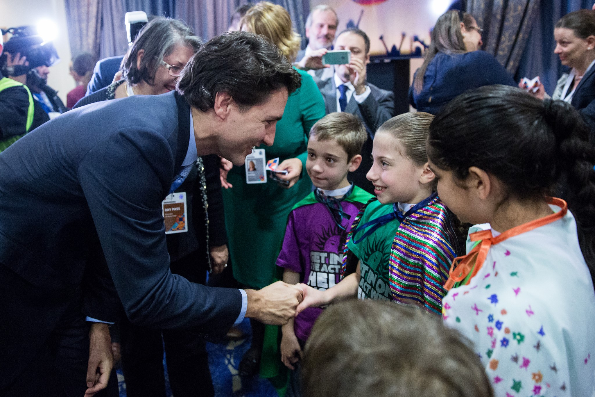(Photo from PM Trudeau's official Facebook account)