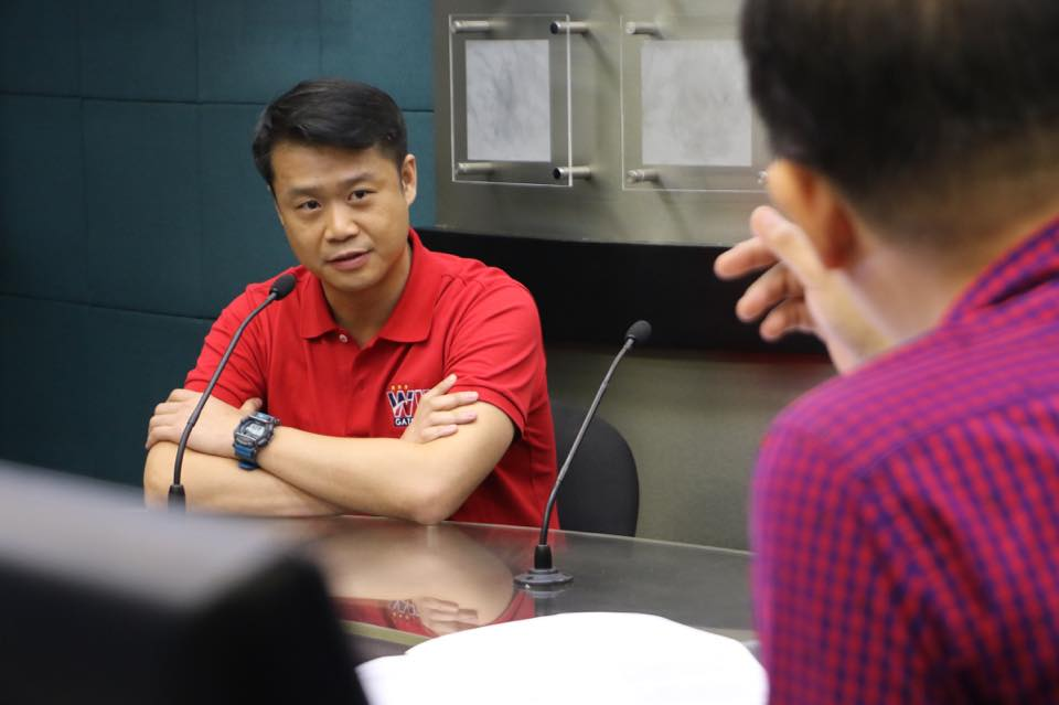 Rep. Sherwin Gatchalian seeks immediate signing of OWWA Act. (Photo courtesy of the official Facebook page of Rep. Gatchalian)