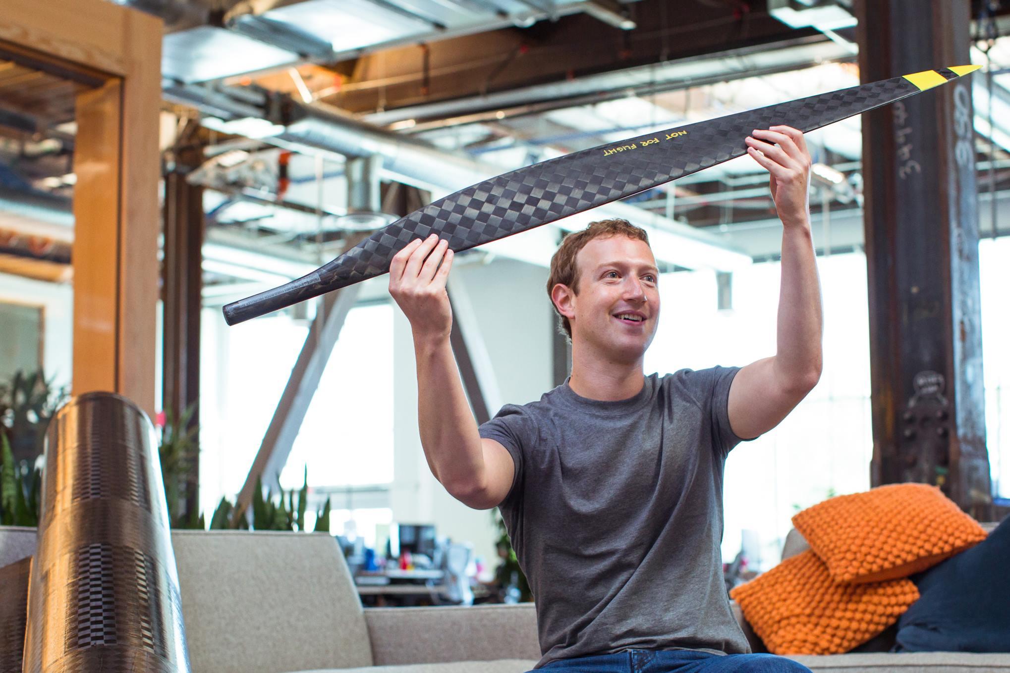 Mark Zuckerberg. (Facebook photo)