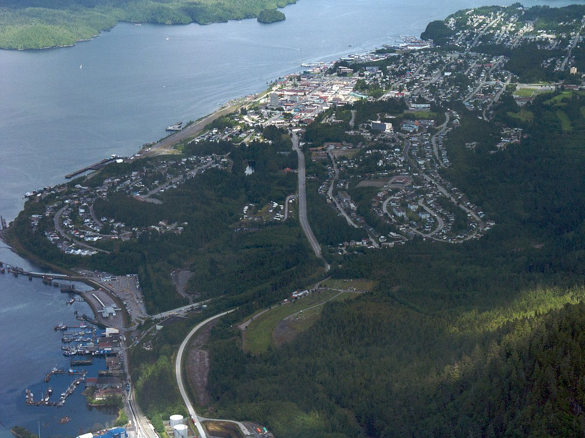 Aerial view of Prince Rupert, British Columbia. (Photo courtesy of Sam Beebe/Wikipedia)