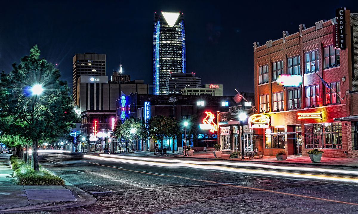 Oklahoma City (Photo courtesy of Kool Cats Photography/Wikipedia).