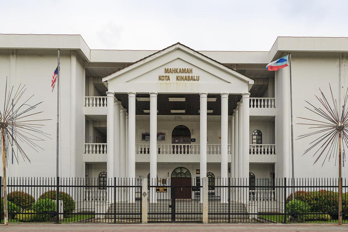 The High Court of Kota Kinabalu. (Photo by CEphoto, Uwe Aranas / CC-BY-SA-3.0)
