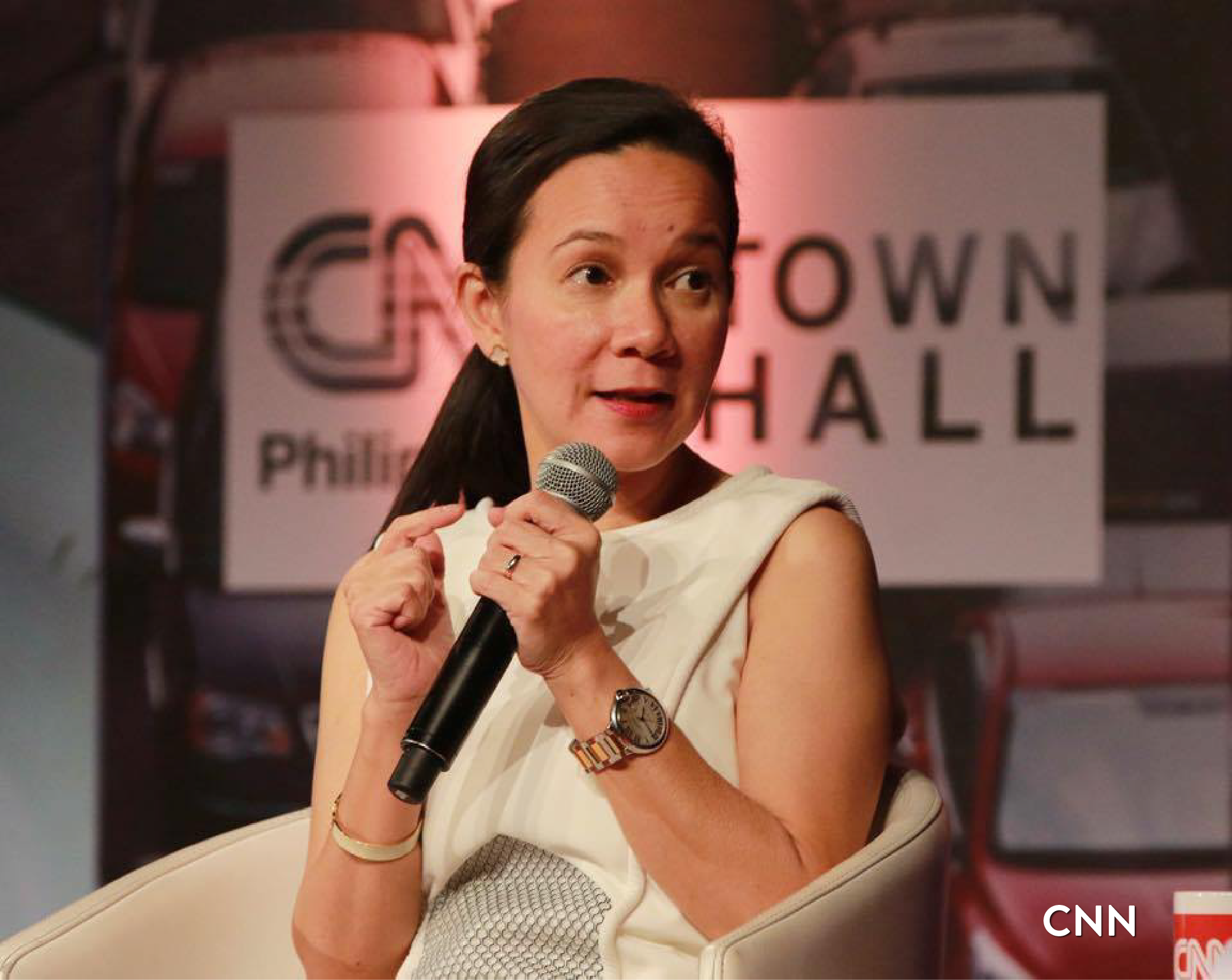 Presidential candidate Sen. Grace Poe. (Photo courtesy of Sen. Poe's official Facebook page)