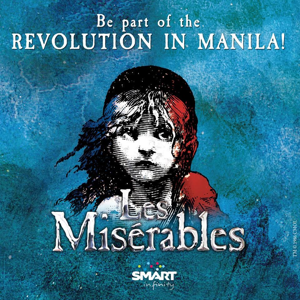 """""""Les Misérables"""" promotional ad (Photo from Les Misérables Manila's Facebook page)"""
