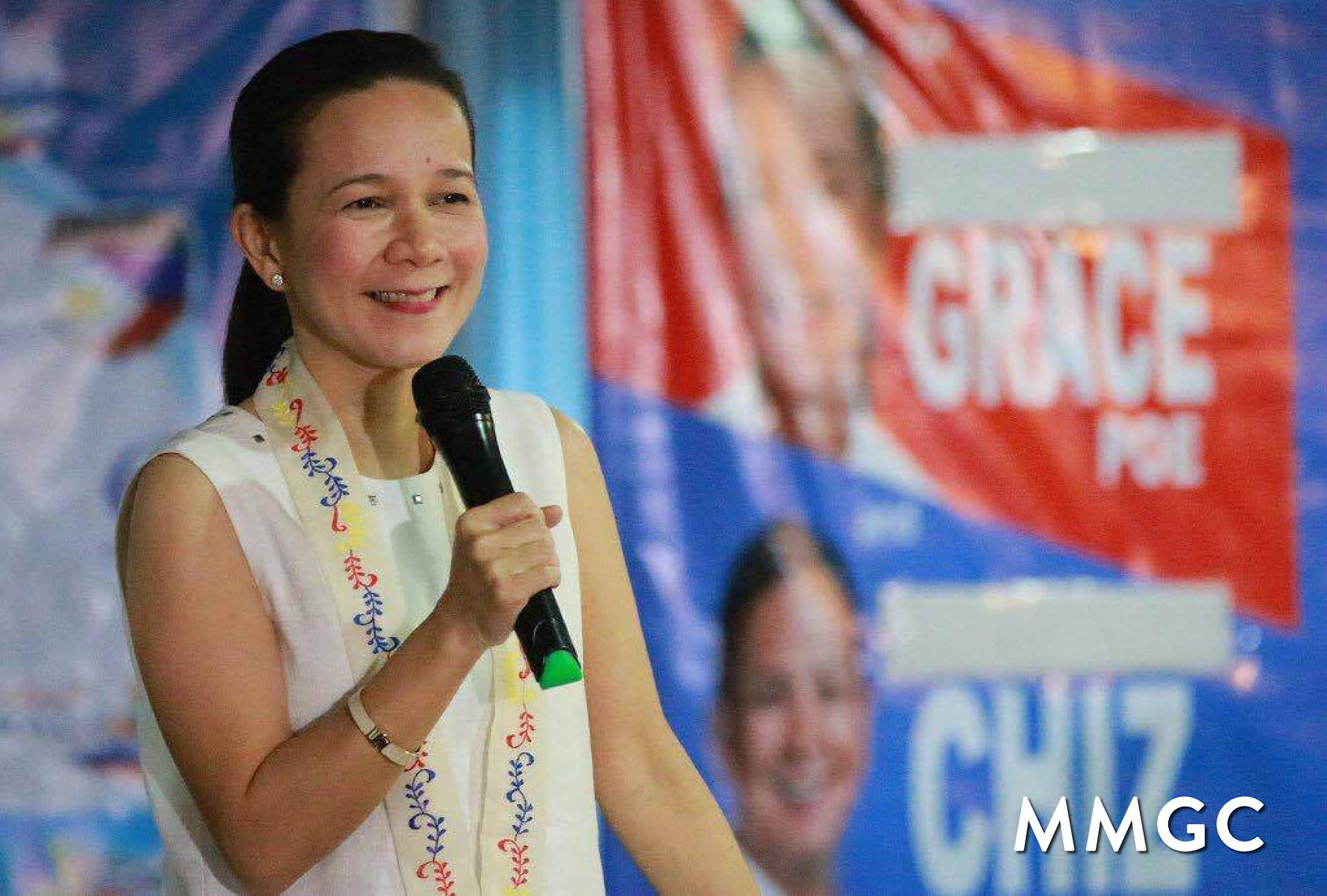 Photo courtesy of the official Facebook page of Grace Poe