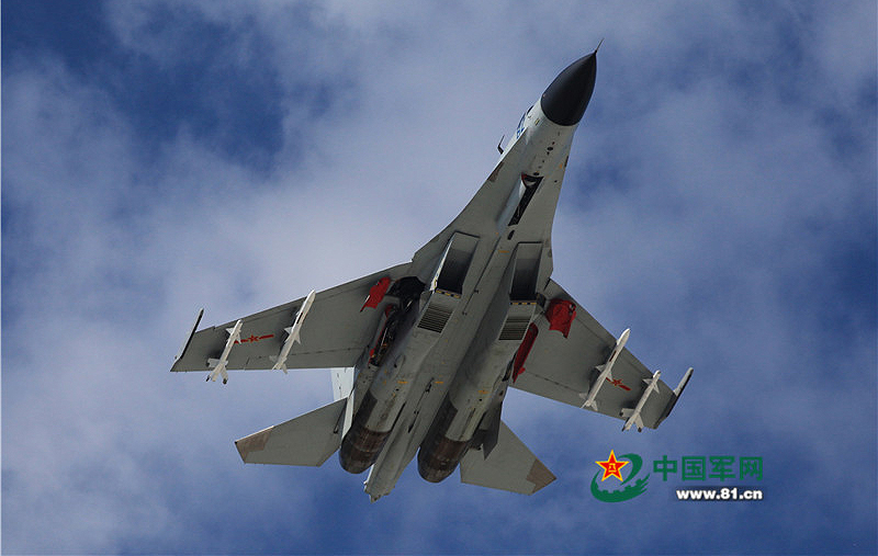 J-11 Fighters deployed to Woody Island. (Photo circulating Chinese media)