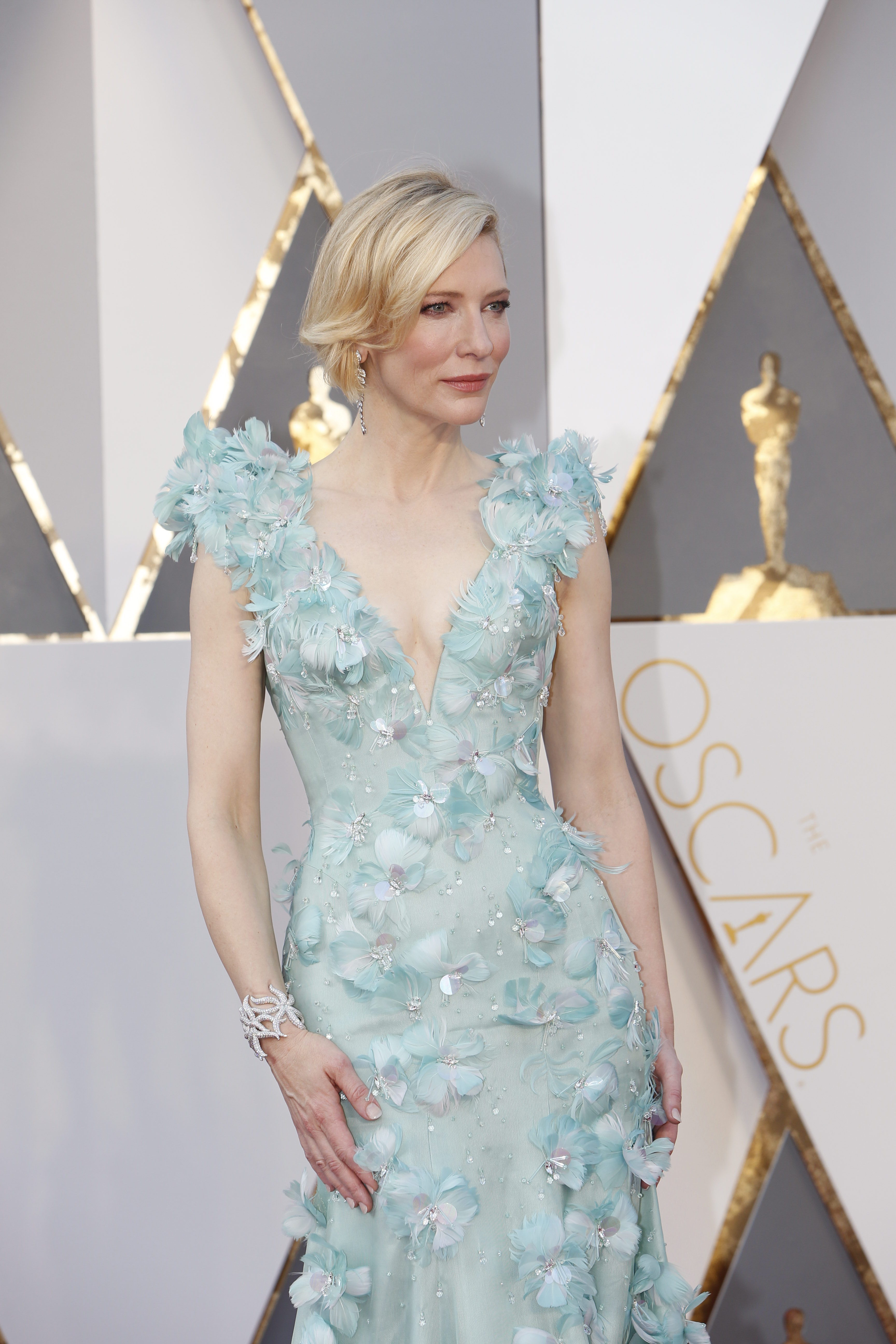 Cate Blanchett at the 88th Academy Awards.
