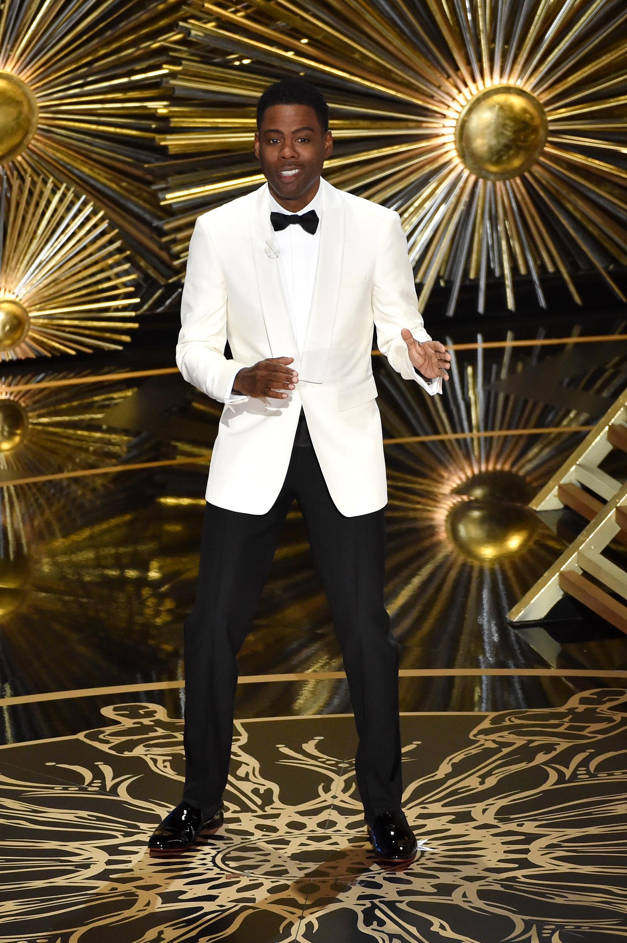 Chris Rock, host of the 88th Annual Academy Awards. (Photo courtesy of The Oscar)