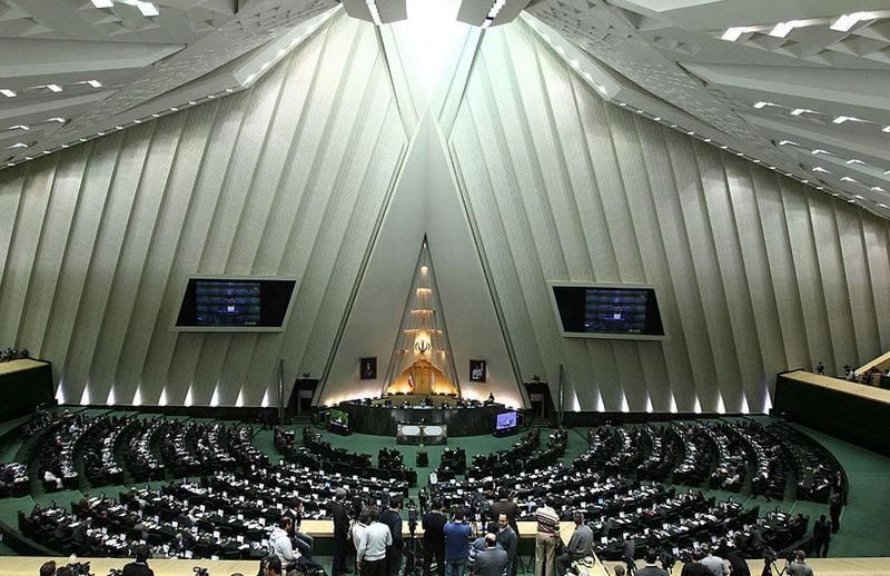 Inside of the Iranian Parliament. (Photo by Mahdi Sigari/Wikipedia)