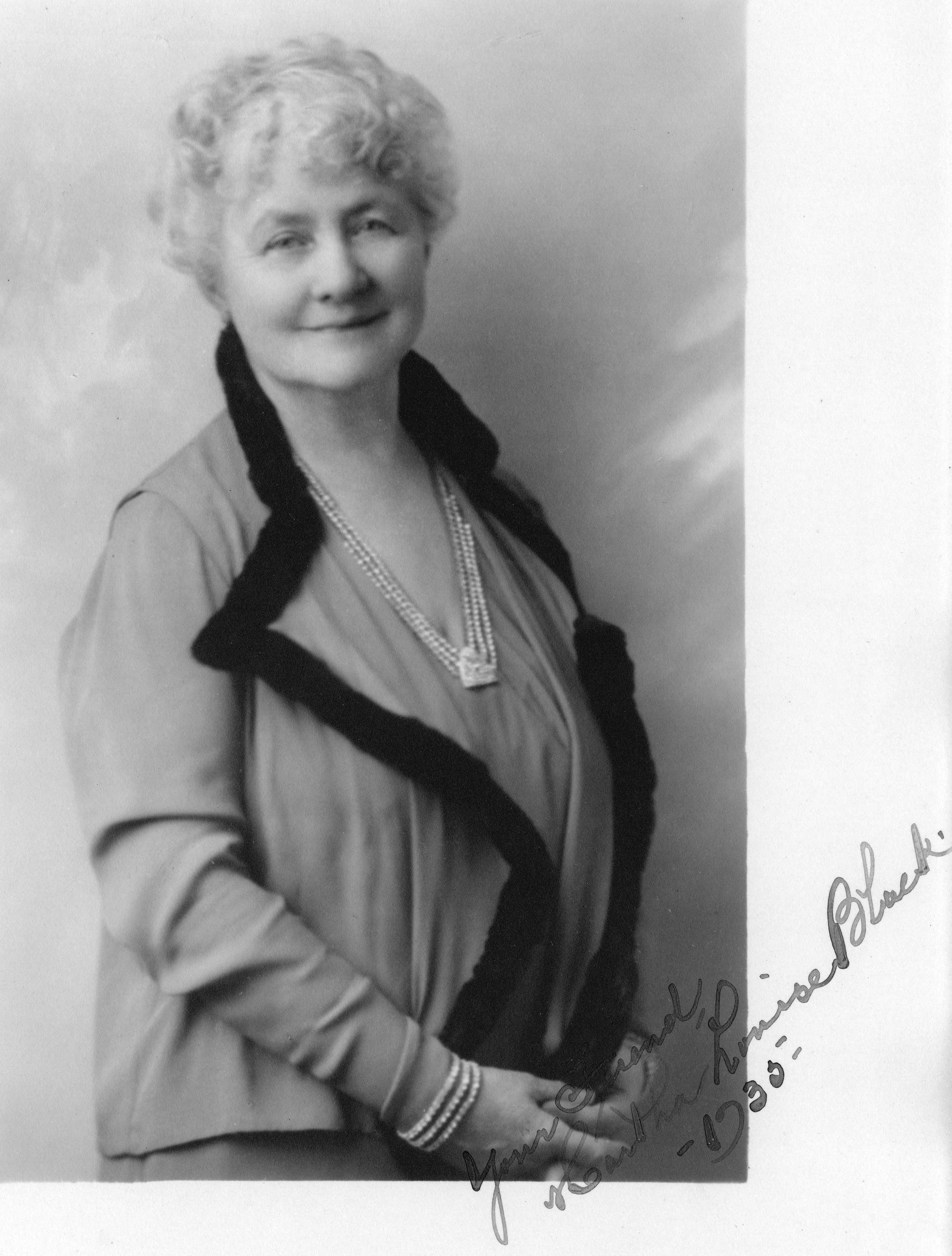 Martha Louise Black (Photo courtesy of City of Vancouver Archives)