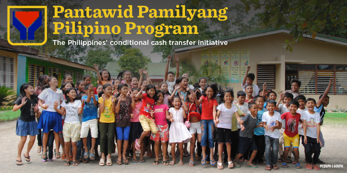 pantawid pamilyang pilipino program Abstract this paper determined the level of awareness of pantawid pamilyang pilipino program (4ps) beneficiaries on climate change and.