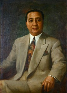 Philippine president Elpidio Quirino (Photo courtesy of Malacañan Palace)