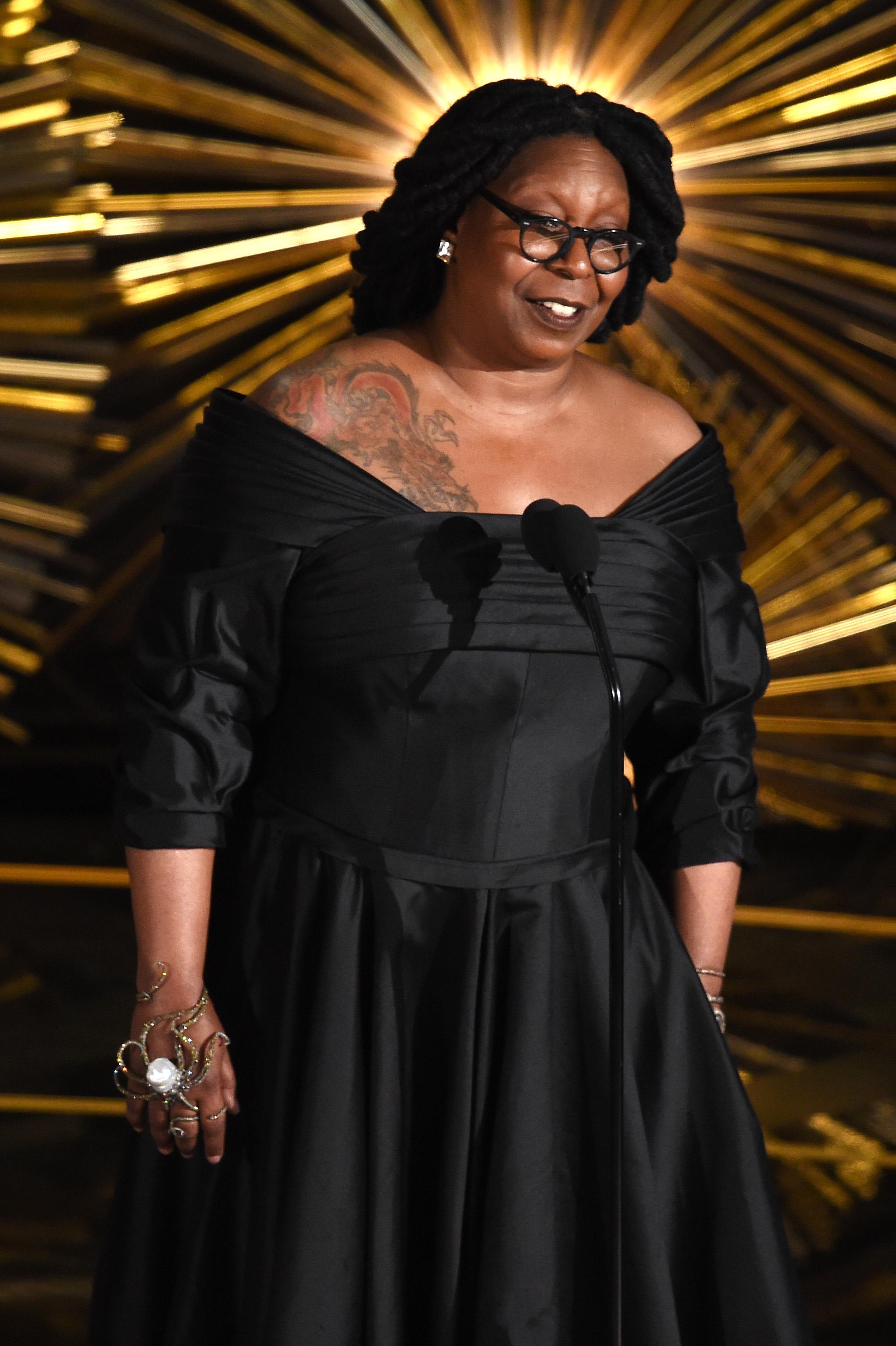 Whoopi Goldberg at the 88th Academy Awards.
