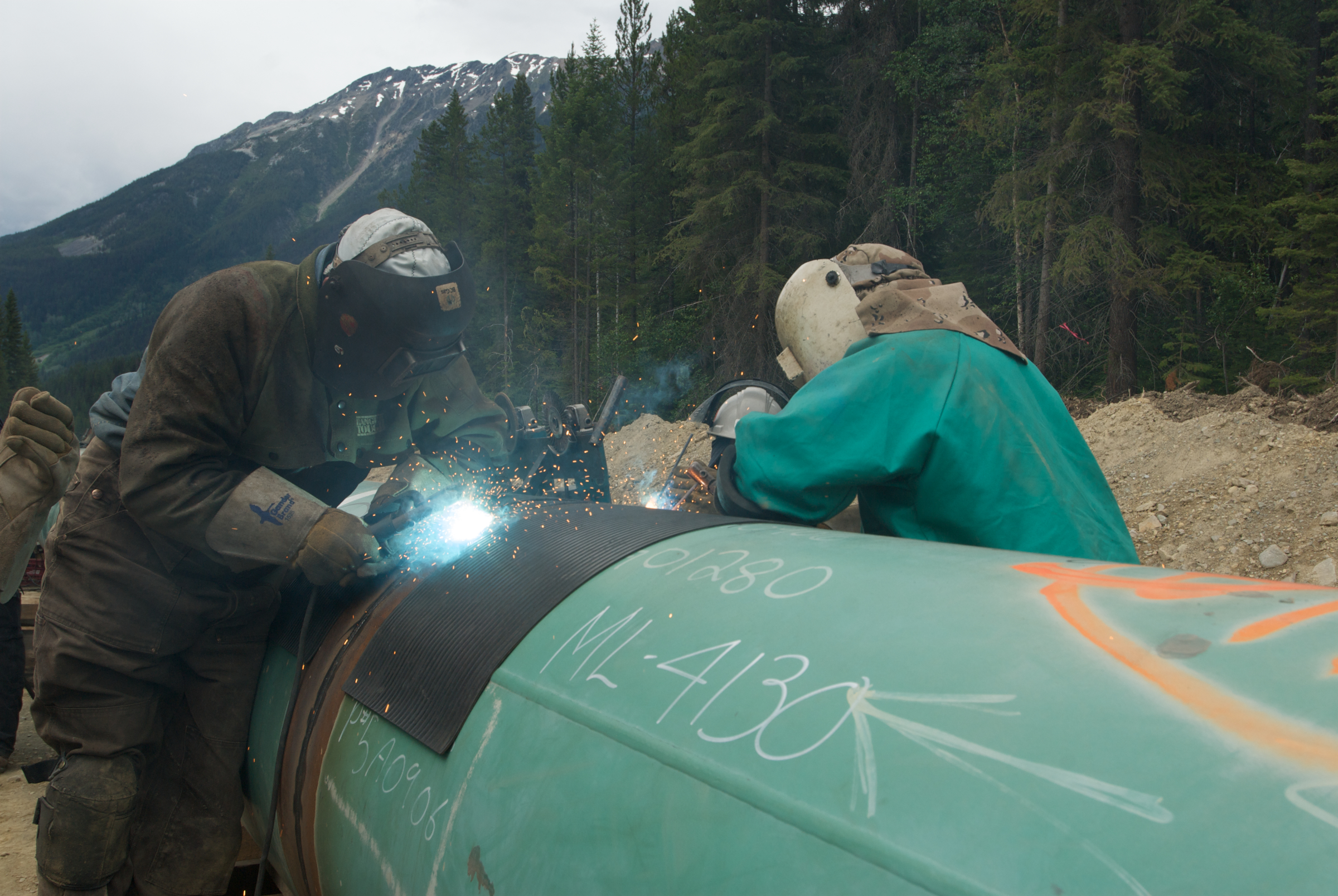 (Photo courtesy of Trans Mountain website)