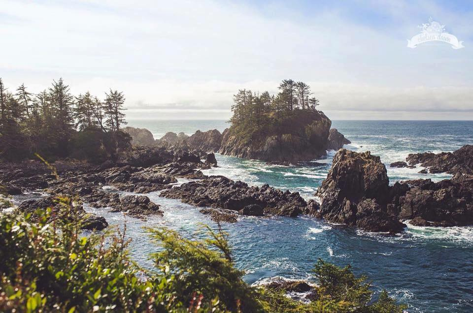 """""""When it's sunny and flat, it's special. It's a great experience every day,"""" said Jim Martin, known locally as Oyster Jim. (Photo by Chelsea Banwell/Wild Pacific Trail)"""