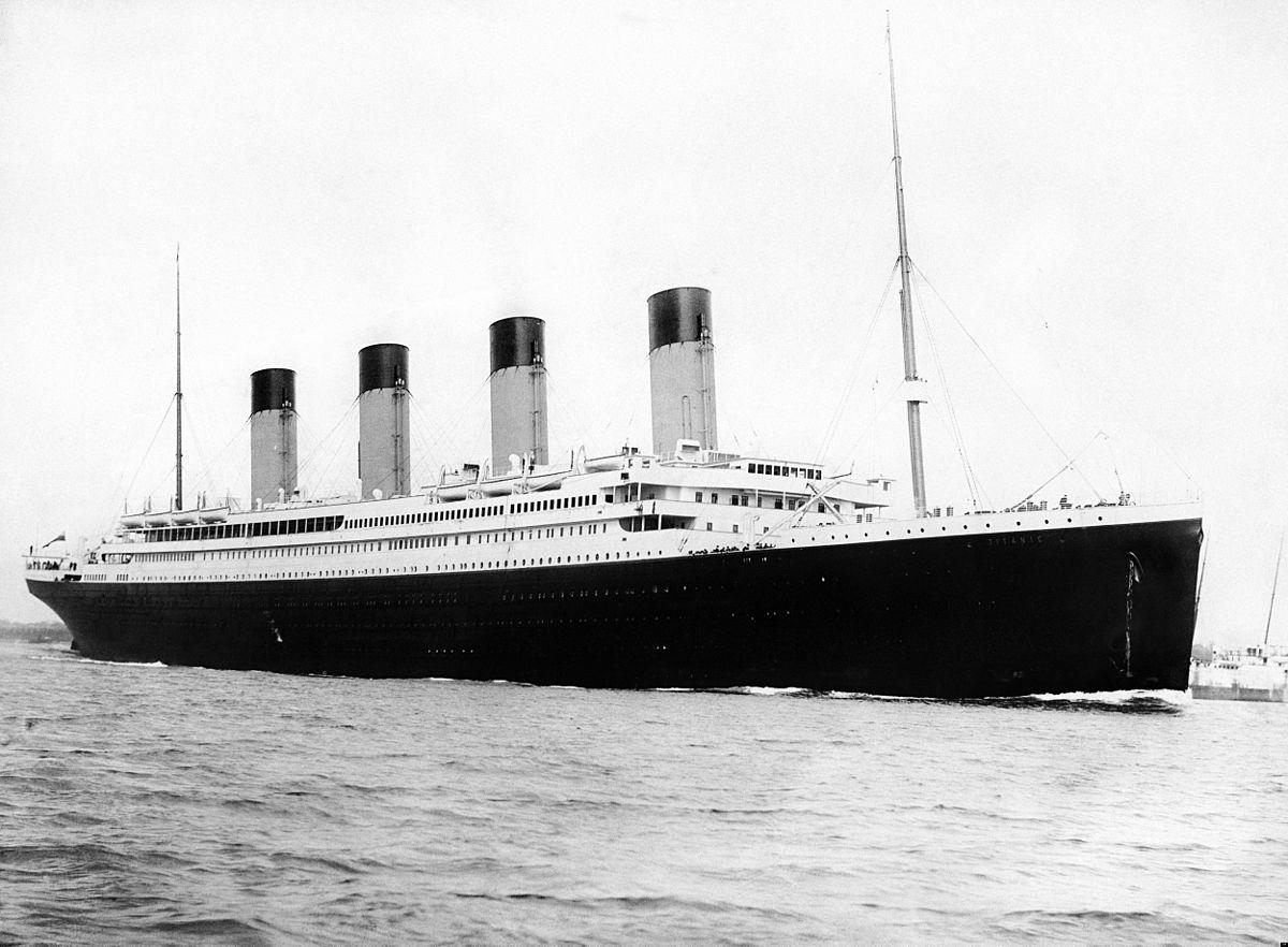 RMS Titanic departing Southampton on April 10, 1912. (Photo: F.G.O Stuart)
