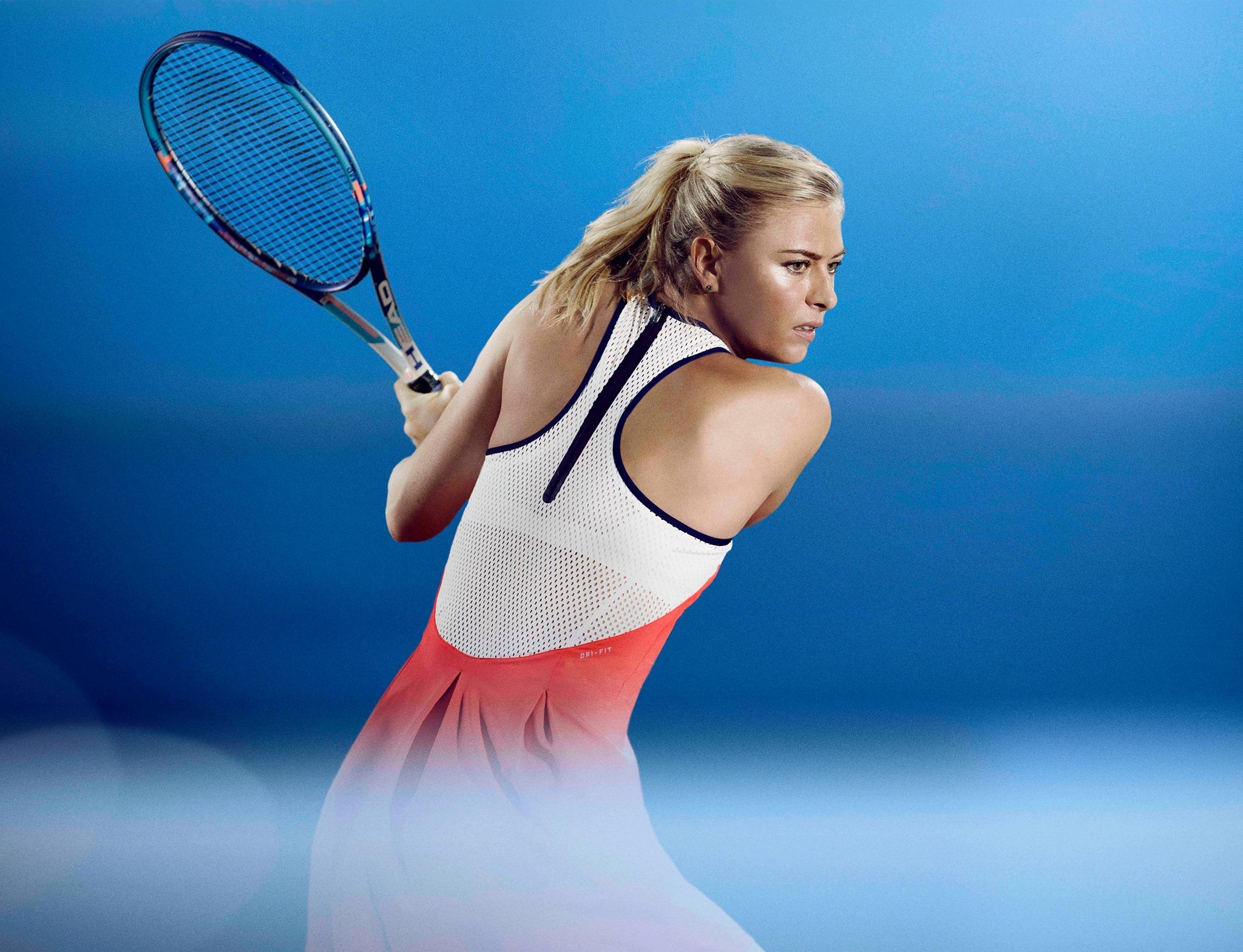 Maria Sharapova (Photo from Sharapova's official Facebook account)