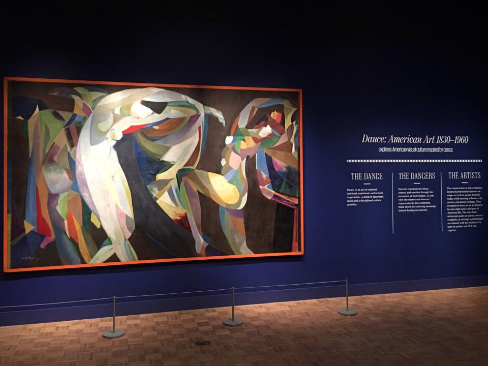 "Check out this sneak peek of the ""Dance! American Art 1830-1960""! Members Preview Days are Friday and Saturday, and the exhibition opens to the public on Sunday. #jointhedance (Photo from DIA's official Facebook page)"