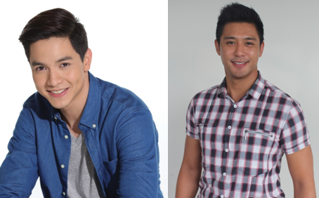 Alden Richards (L) and Rocco Nacino (Contributed photos)
