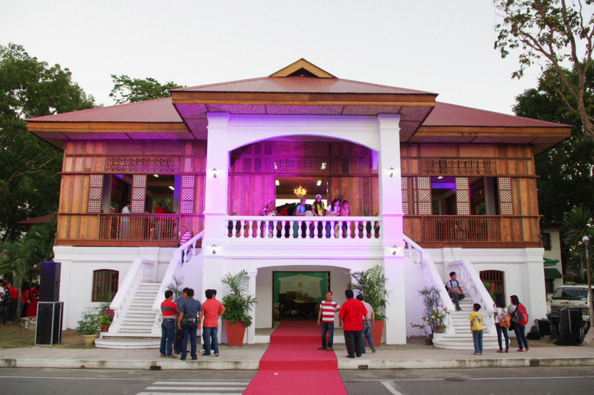 The newly-opened 'Balay ti Dingras' which houses traditional Ilokano lifestyle.  (Photo from Ilocos Norte gov't's Flickr account)