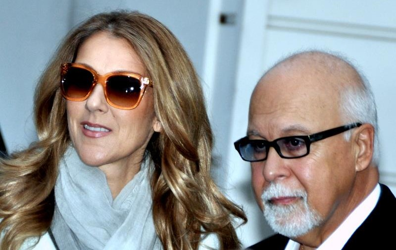 Céline Dion and Angélil in 2012. (Photo by Georges Biard, CC BY-SA 3.0)