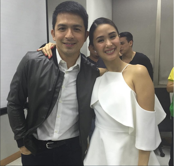 Dennis Trillo and Heart Evangelista portray a married couple. (Contributed photo)