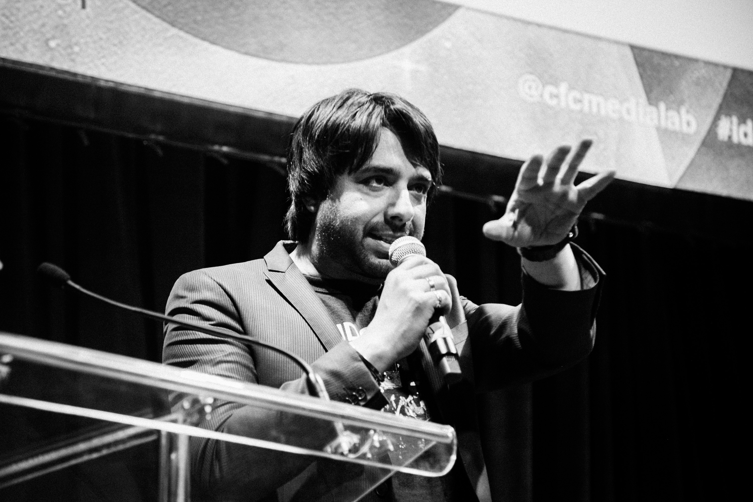 Jian Ghomeshi is set to learn his fate today. (Photo: Canadian Film Centre/Flickr)
