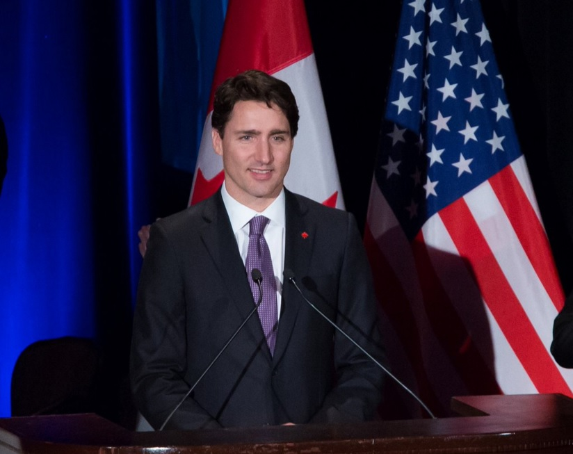 Prime Minister Justin Trudeau in New York. (Photo: CanadianPM/Twitter)