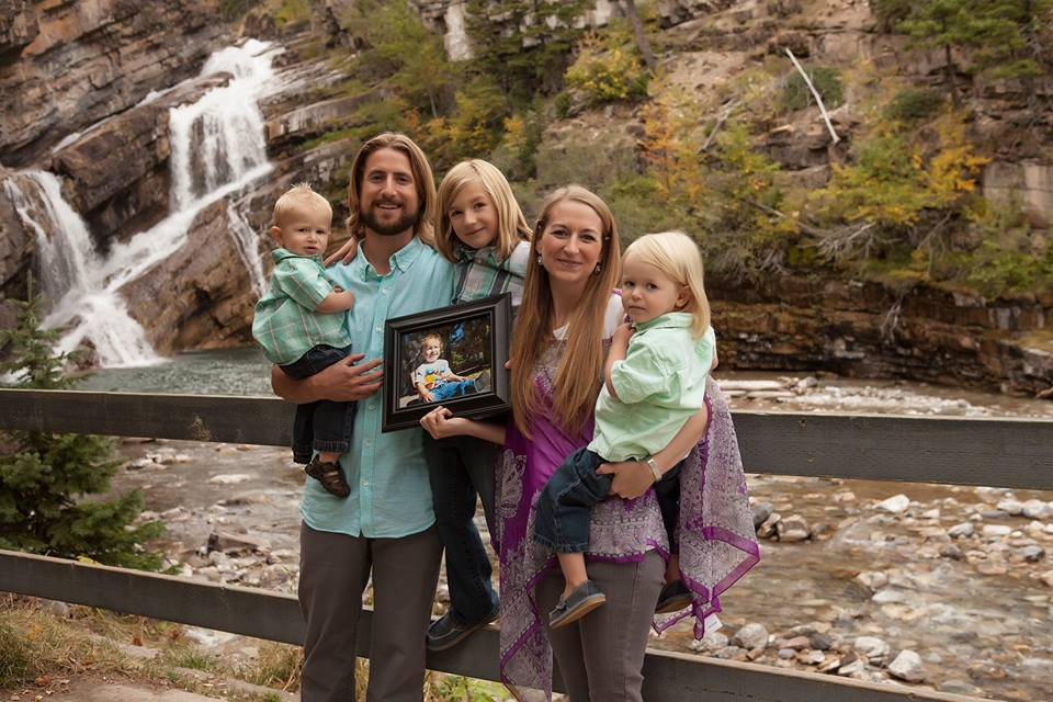 David Stephan, 32, and Collet Stephan, 35, were charged after their 19-month-old son Ezekiel died of bacterial meningitis in March 2012. (Facebook photo)