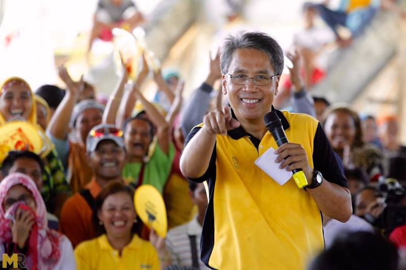 Roxas said that members of the Silent Majority are not necessarily allied with the administration party, but ordinary people who care deeply for the future of the country. (Photo: Mar Roxas/Facebook)
