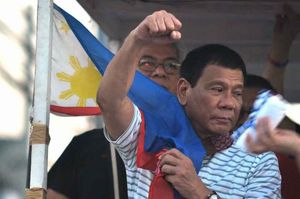 """I will open the economy to foreigners,"" Duterte said. (Photo: Rody Duterte/Facebook)"