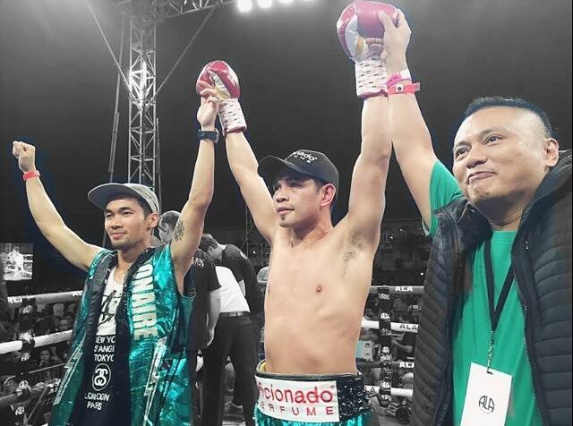 Donaire retained his WBO super bantamweight title, defeating Hungary's Zsolt Bedak.  (Photo from Donaire's official Facebook page)