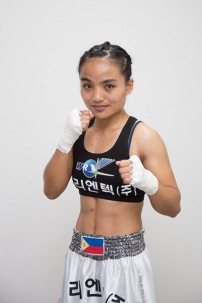 "Reigning WIBA International light flyweight champion Jujeath ""Bad Girl"" Nagaowa will be challenging the undisputed WIBA World light flyweight title-holder Su-Yun Hong of South Korea on April 29 in Suwon, South Korea. (Photo taken from the website of BoxRec)"