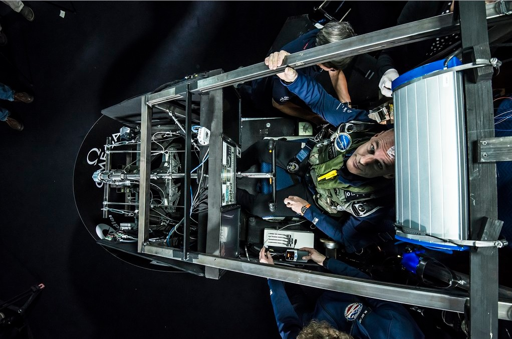 """""""It's very active, there are a lot of things to do, but you can nevertheless enjoy it,"""" Piccard said. (Photo: Bertrand Piccard/Twitter)"""