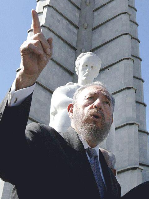 Fidel Castro in Havana, Cuba in 2003. (Photo by  Ricardo Stuckert/ABr.)