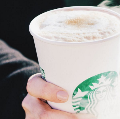 (Photo from Starbucks' official Twitter account)