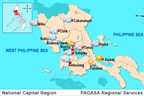 NCR-Regional Forecast (PAGASA)