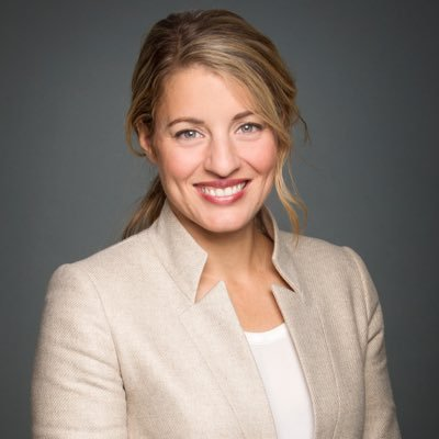 Melanie Joly announced Saturday she will lead a series of public consultations over the next several months that will examine the government's role in supporting Canadian content creation. (Twitter photo.)