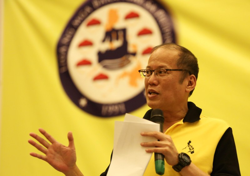 "President Benigno ""Noynoy"" Aquino III. (Photo by Lauro Montellano Jr./Malacañang Photo Bureau)"