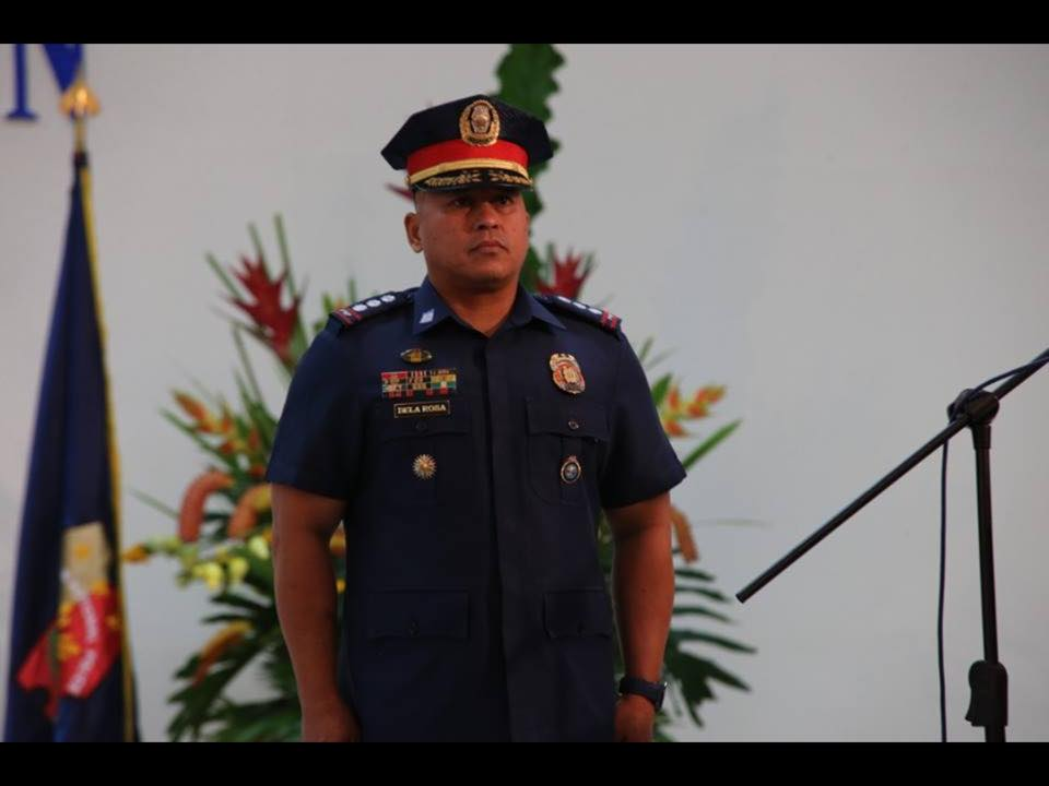 De La Rosa, a member of Philippine Military Academy Class of 1986 hails from Davao City where he also once served as the chief of police, and partnered with Duterte in crushing criminality in the area. (Facebook photo)