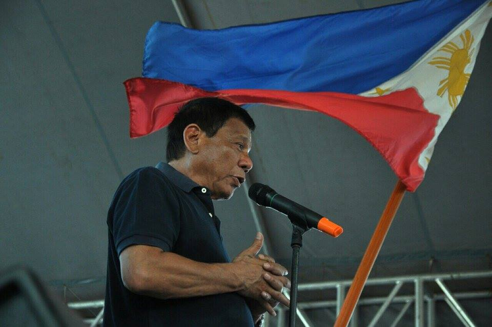 "President-elect Rodrigo ""Rody"" Duterte questioned the relevance of Catholic bishops, citing his overwhelming victory in the May 9 presidential election based on an unofficial count despite efforts by them to persuade Filipinos not to vote for him. (Facebook photo)"