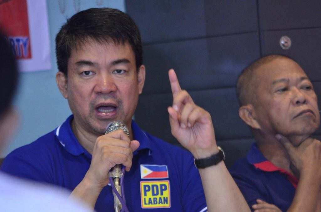 "Senator Aquilino ""Koko"" Pimentel III, PDP-Laban president, said that Duterte's victory is now likely, considering that he remains in top position in surveys. (Facebook photo)"